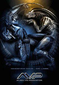 чужой против хищника - постер