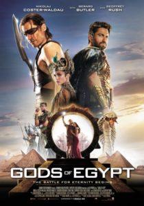 боги Египта - постер