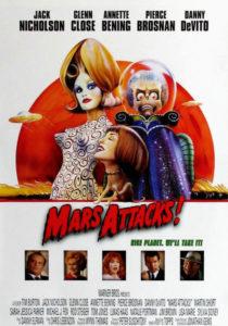 марс атакует - постер