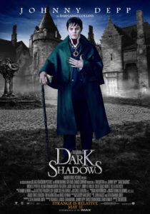 мрачные тени - постер