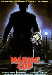 маньяк-полицейский - постер