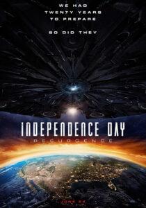 день независимости: возрождение - постер